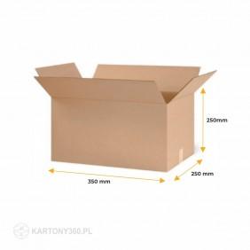 Karton klapowy 350x250x250 Paleta - 1040 szt.