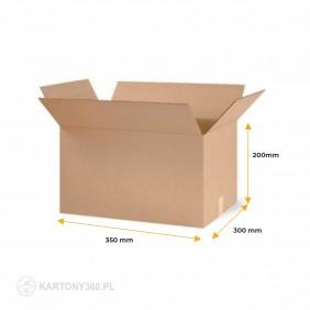 Karton klapowy 350x300x200 Paleta - 920 szt.