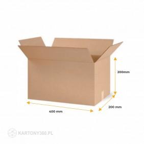 Karton klapowy 400x200x200 Paleta - 1440 szt.