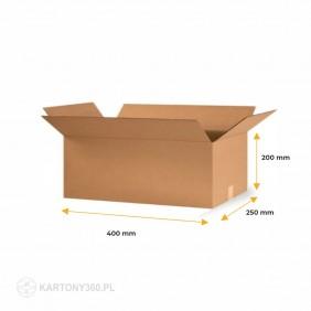 Karton klapowy 400x250x200 Paleta - 1040 szt.
