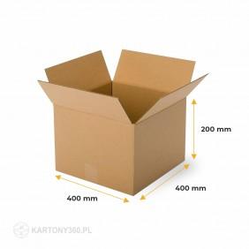 Karton klapowy 400x400x200 Paleta - 680 szt.