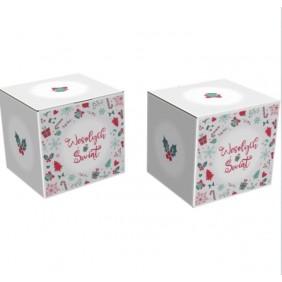 Karton świąteczny mały 180x160x160 - Paleta 900 szt.