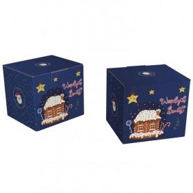 Karton świąteczny średni 245x225x215.50 - Paleta 600 szt.