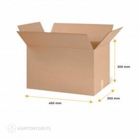 Karton klapowy 450x300x300 Paleta - 680 szt.