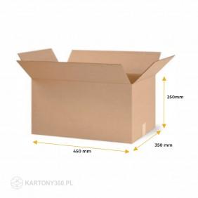 Karton klapowy 450x350x250 Paleta - 720 szt.