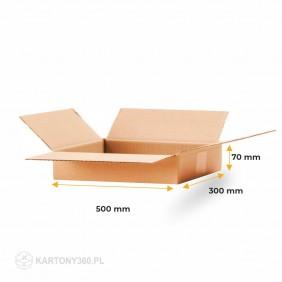 Karton klapowy 500x300x70 Paleta - 1080 szt.