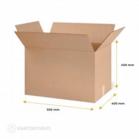 Karton klapowy 500x400x400 Fala C Paleta - 320 szt.
