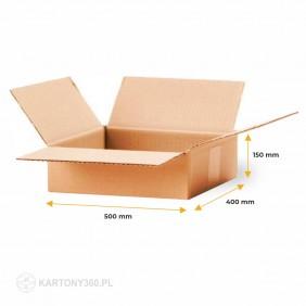 Karton klapowy 500x400x150 Paleta - 580 szt.