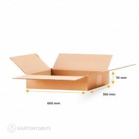 Karton klapowy 600x350x70 Paleta - 1120 szt.