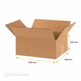 Karton klapowy 600x400x300 Fala C Paleta - 320 szt.