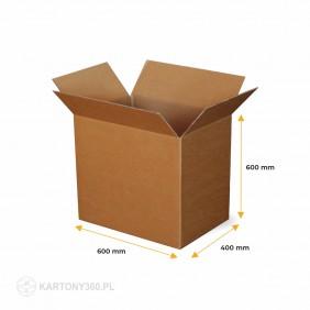 Karton klapowy 600x400x600 5-warstw. Paleta - 330 szt.