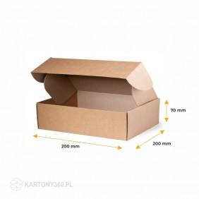Karton fasonowy 200x200x70 Paleta - 3120 szt.