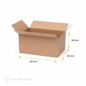 Karton klapowy 300x150x100 Paleta - 2760 szt.