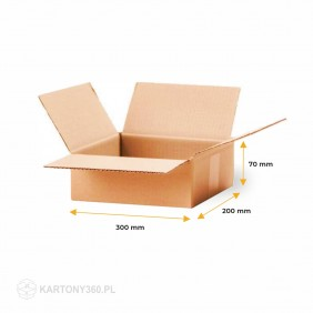 Karton klapowy 300x200x70 Paleta - 2240 szt.
