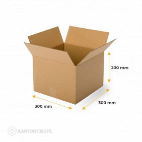 Karton klapowy 300x300x200 Paleta - 1120 szt.