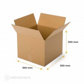 Karton klapowy 300x300x300 Paleta - 900 szt.