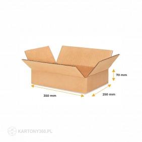 Karton klapowy 350x250x70 Paleta - 1680 szt.